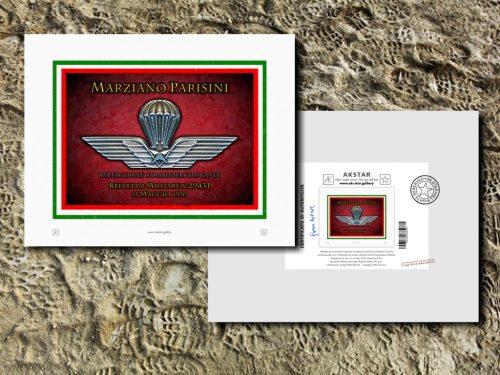 M001-Brevetto Paracadutista Militare