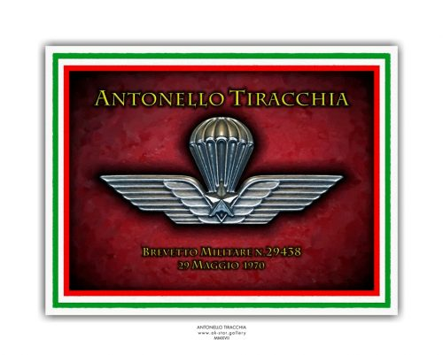 M001-Brevetto Paracadutista Militarte
