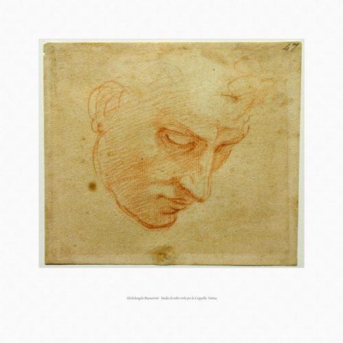 054-Michelangelo studio di volto
