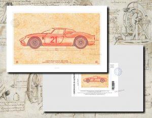 087-Ferrari 250 LM -Certificato